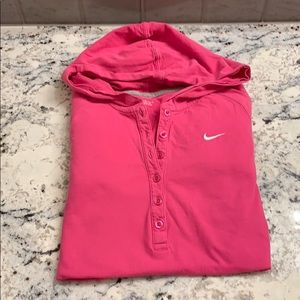 Nike Button pullover Size L